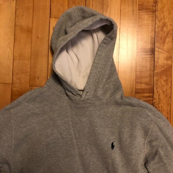 fd94b344 Polo Ralph Lauren Hoodie Sweatshirt Heather Grey L.  M_5b51dbcc81bbc84242f21b36